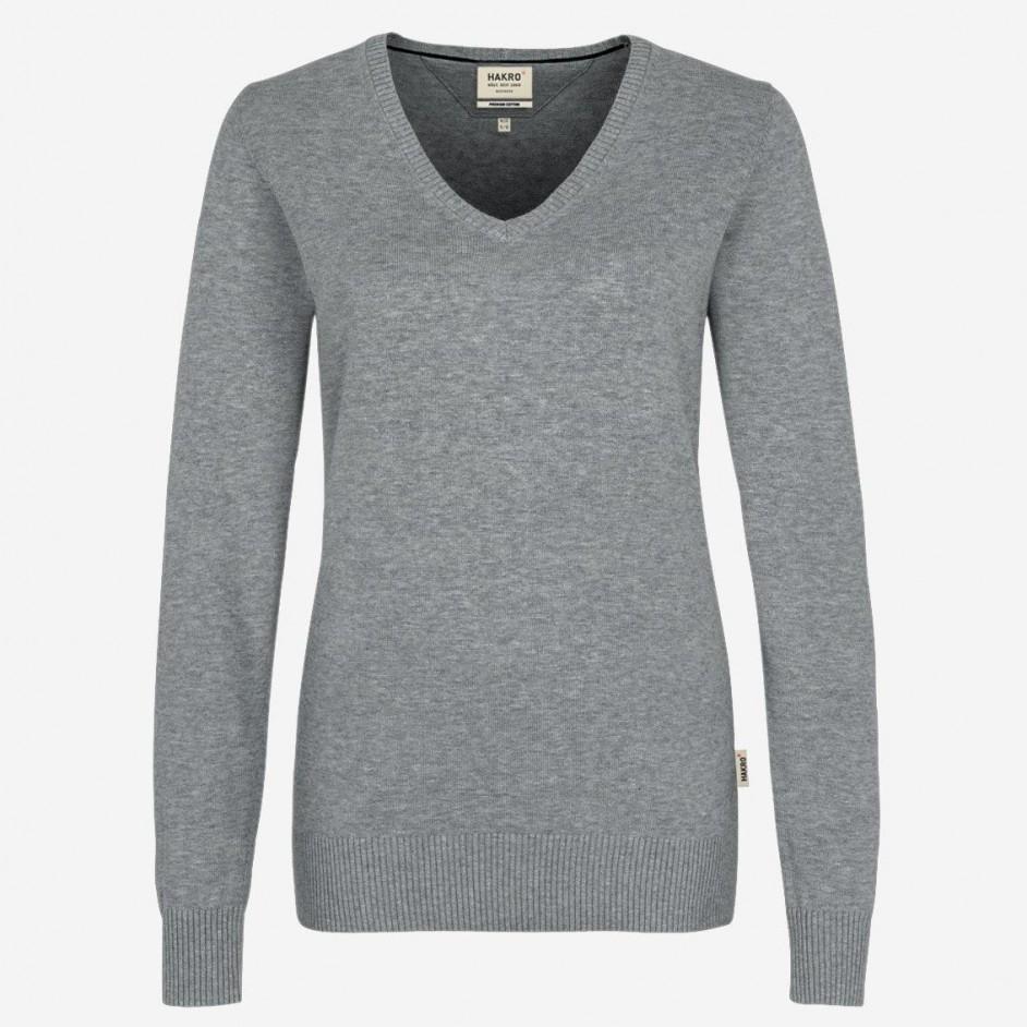 133 Dames Hakro V-neck Pullover