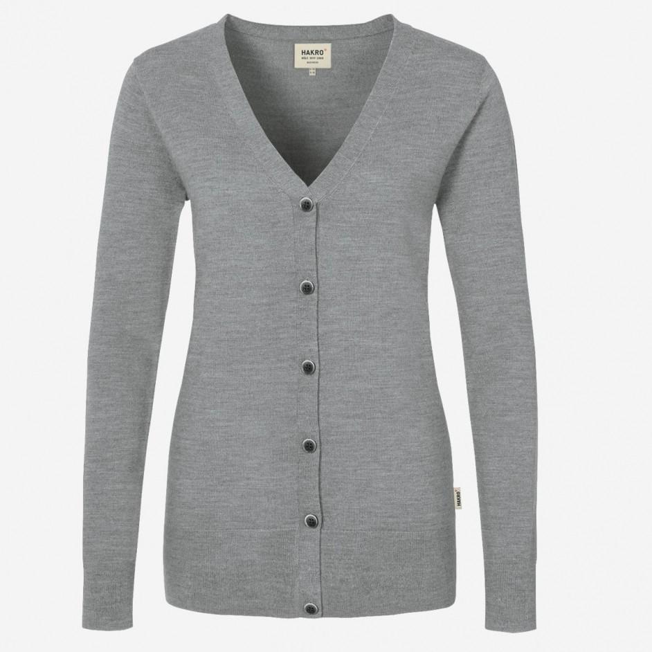 140 Hakro Merino Wool Cardigan