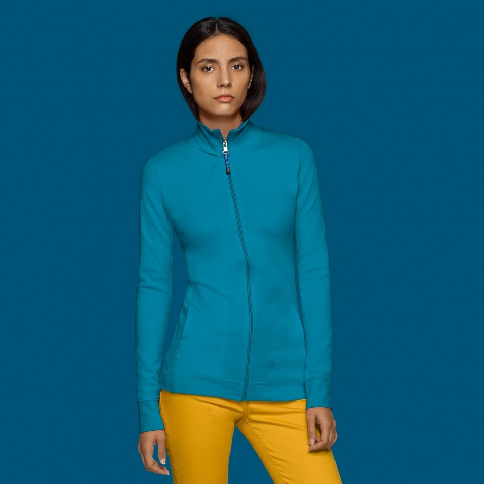 227 Hakro dames Interlock Jacket