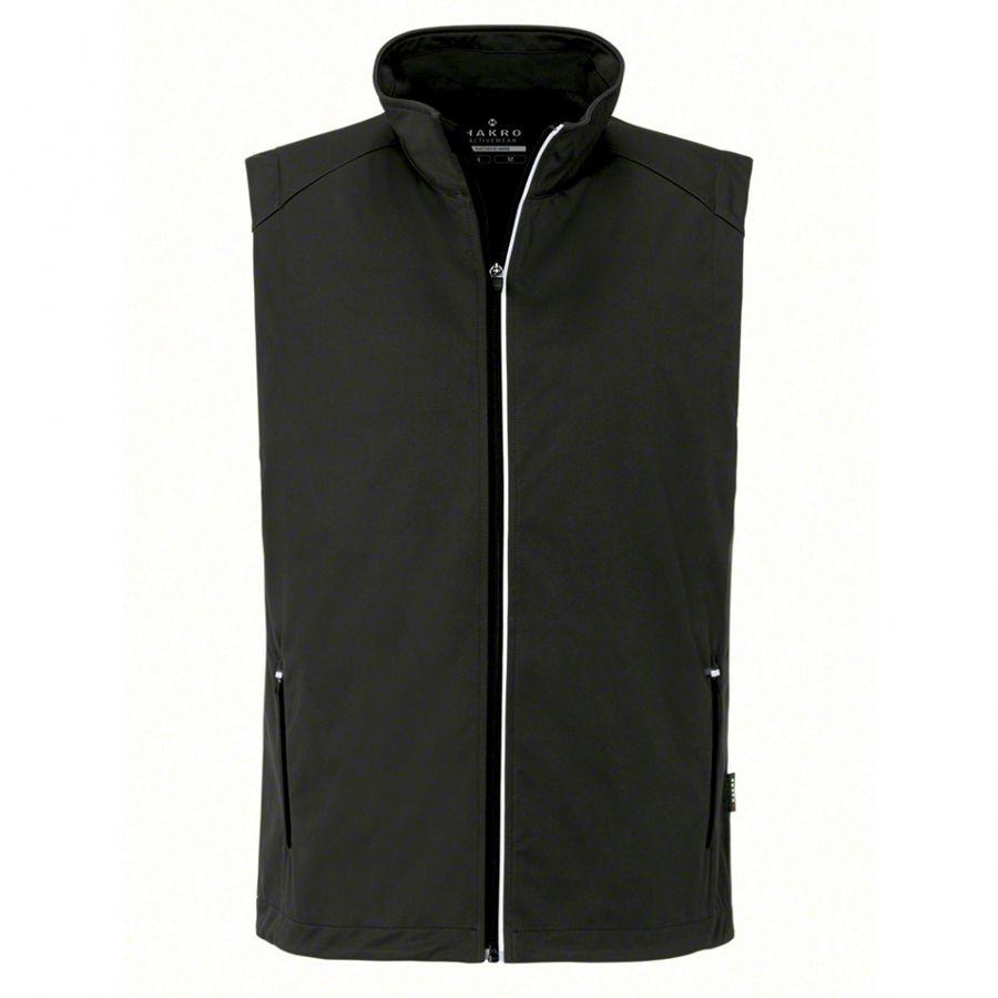 Heren bodywarmer softshell 854 Antraciet