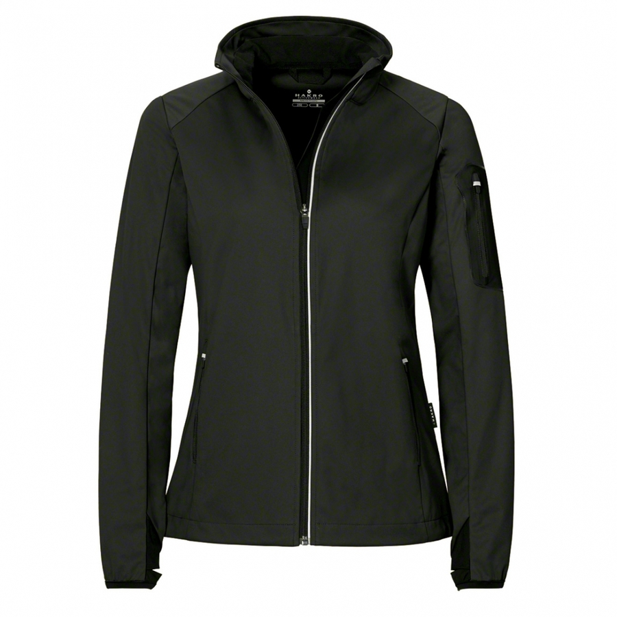 Dames Light Softshell Jack ANTRACIET