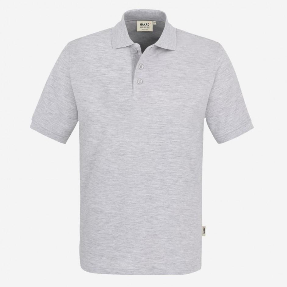 810 Poloshirt Classic Hakro grijs meleert