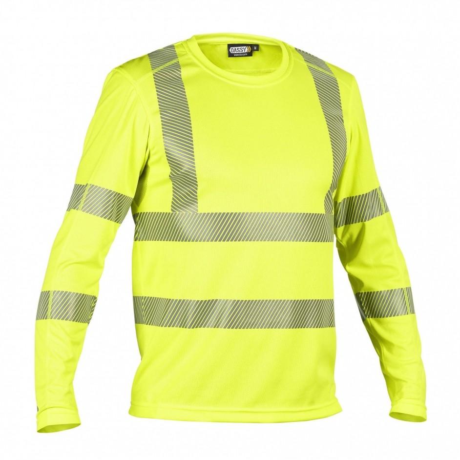 Dassy Carterville Hoge Zichtbaarheids UV T-Shirt Lange Mouw 710037