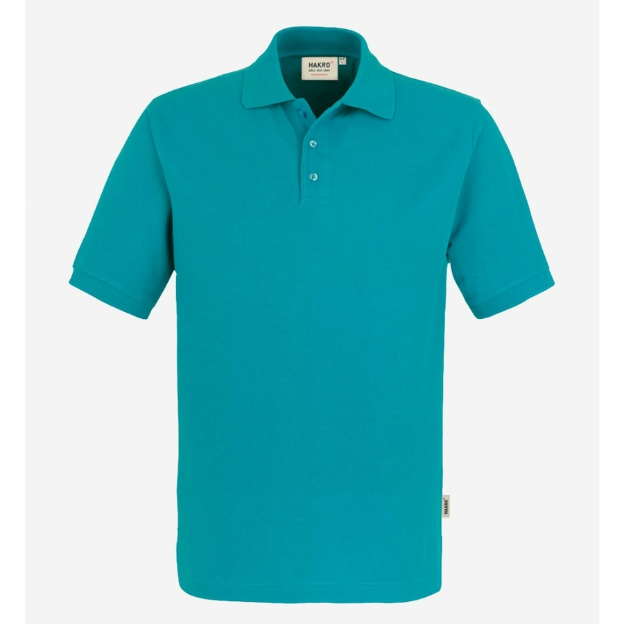 Poloshirt 816 Hakro Smaragd groen