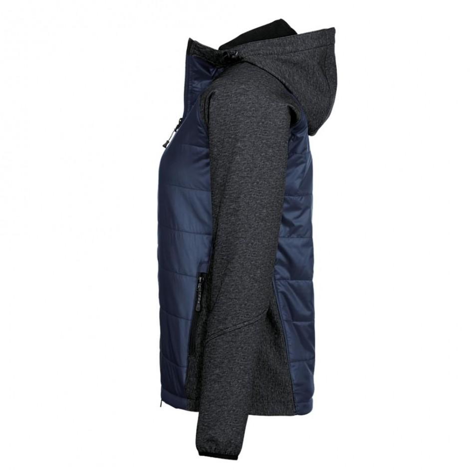 265 Hakro Dames Maryland Hybrid Jacket inktblauw