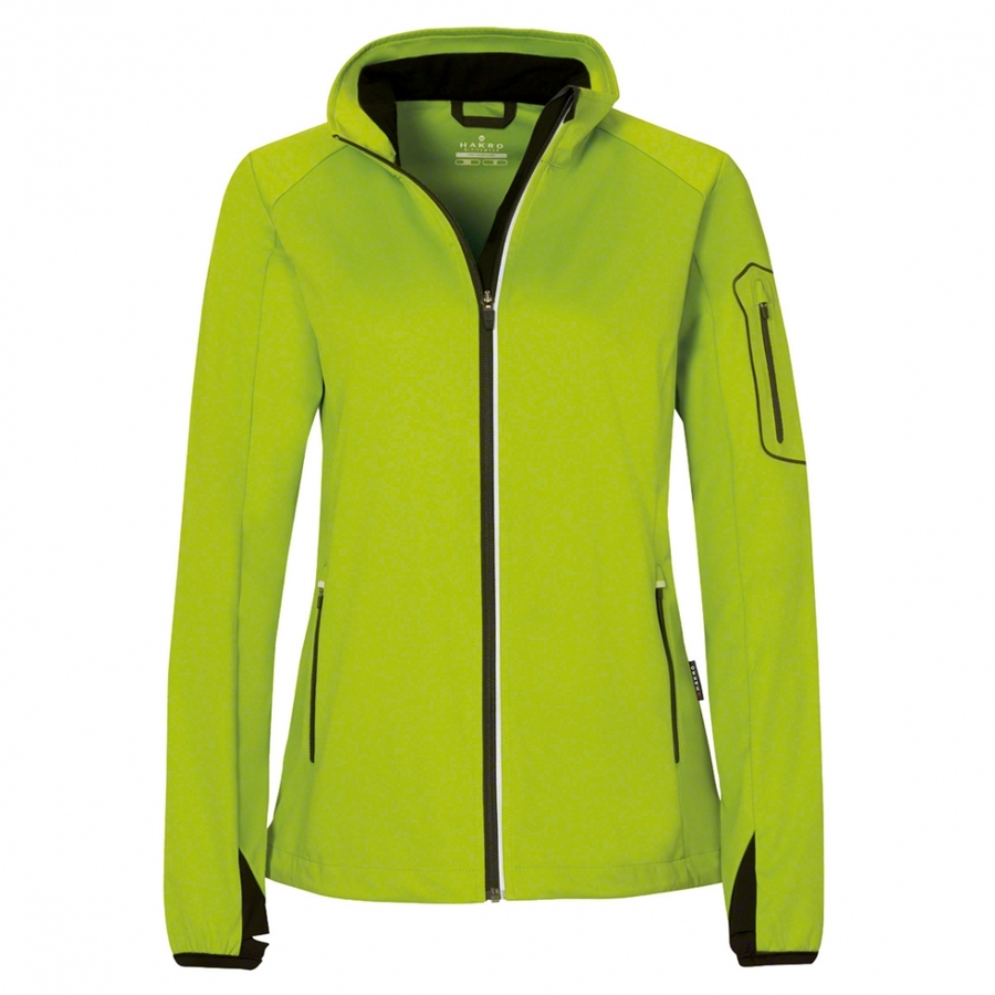 Dames Light Softshell Jack Kiwi