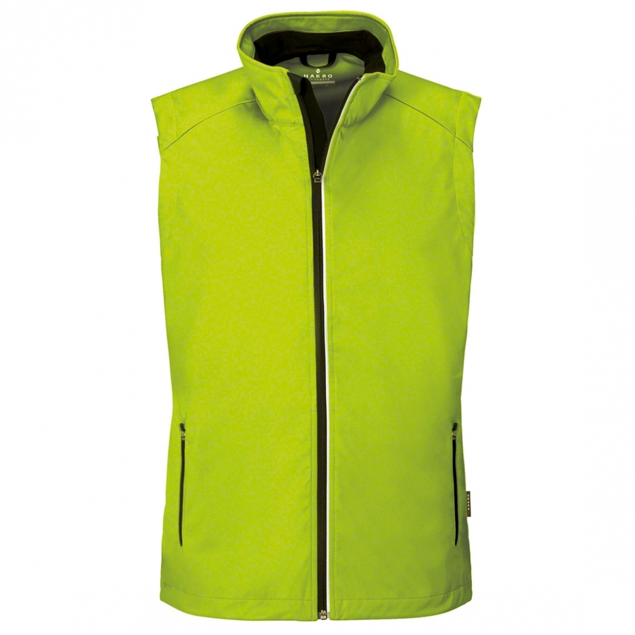 Heren bodywarmer softshell 854 KIWI