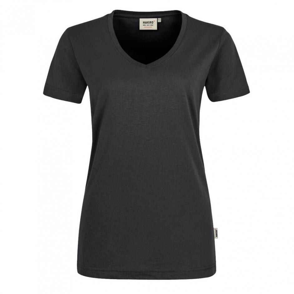 Hakro 181 Damen V-Shirt Mikralinar