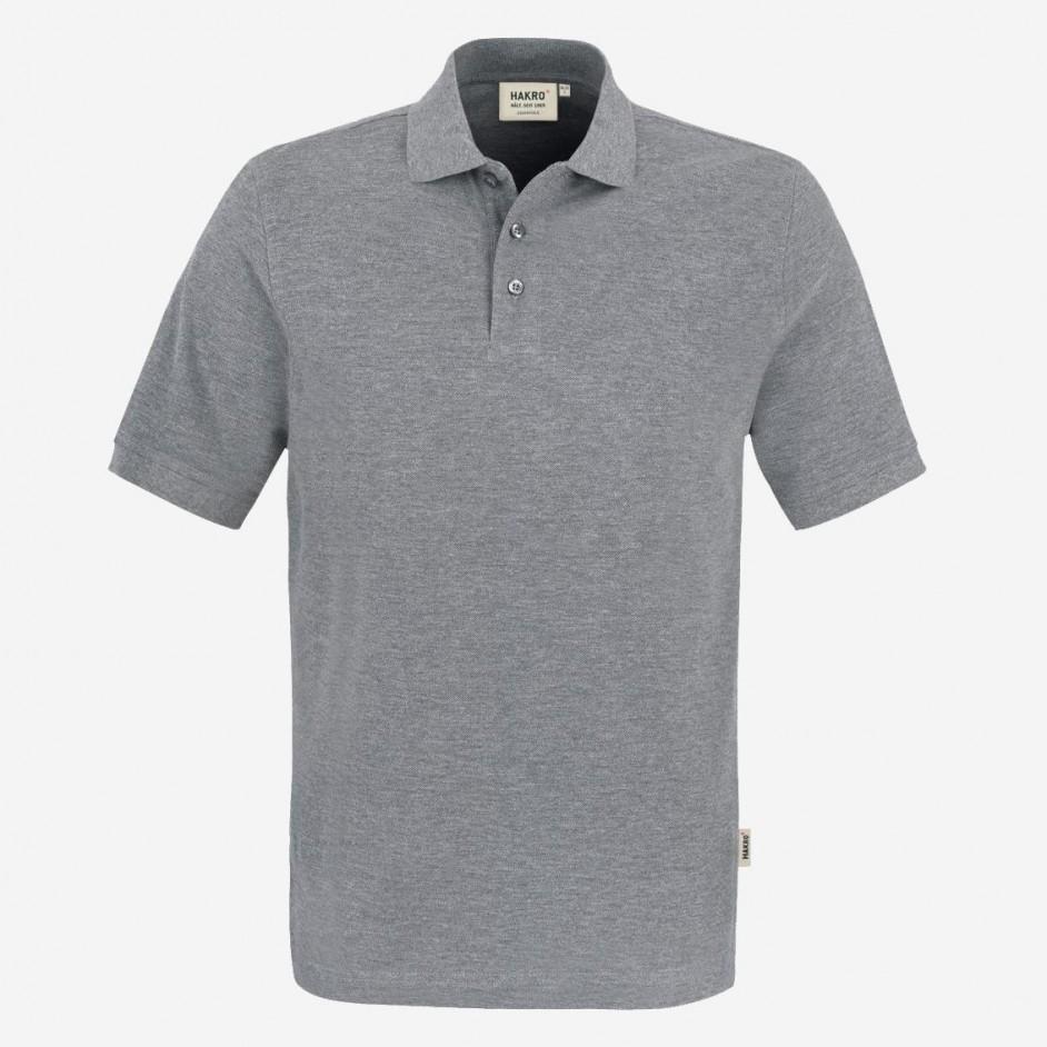 810 Poloshirt Classic Hakro Melee Grijs
