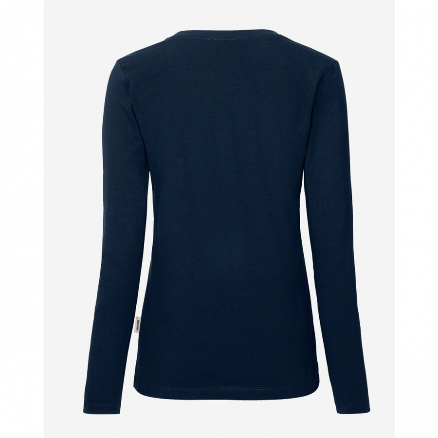 Hakro Woman Performance  long sleeve 179  Ink Blue