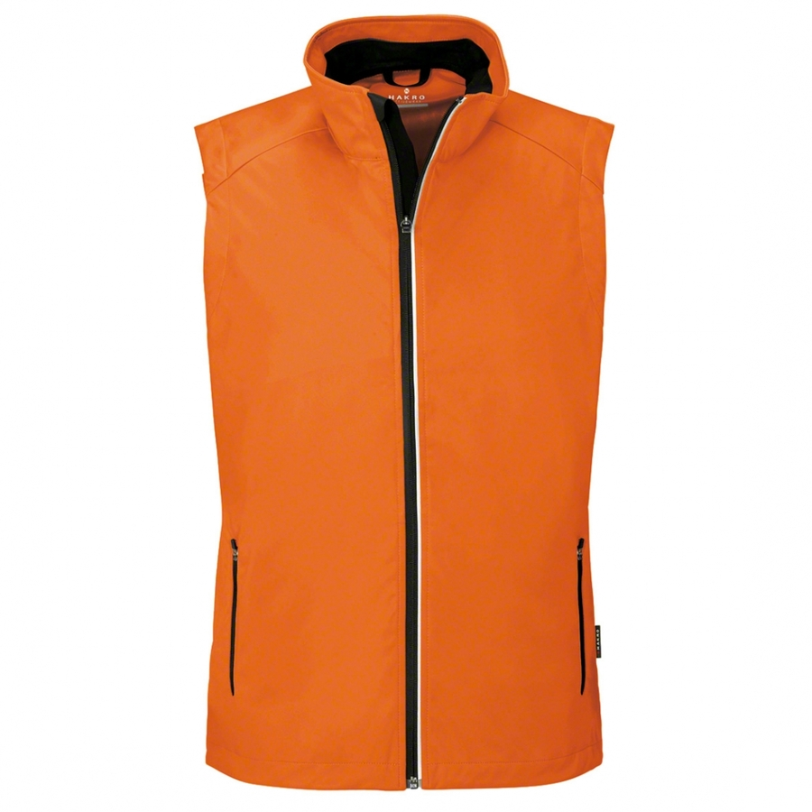 Heren bodywarmer softshell 854 Oranje