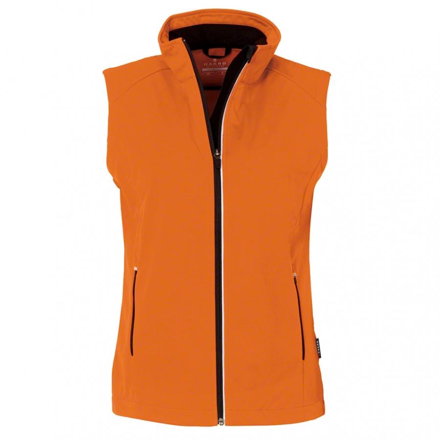Dames bodywarmer softshell 254 Oranje