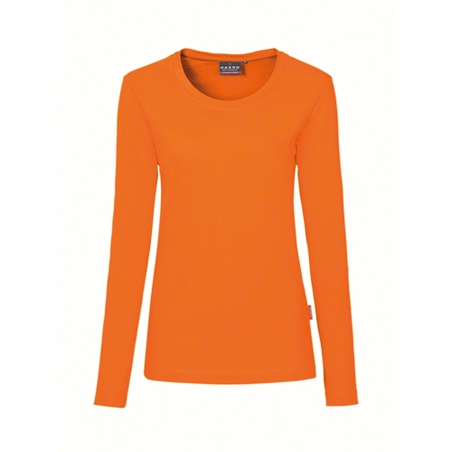 Hakro Woman Performance Long Sleeve 279 Orange