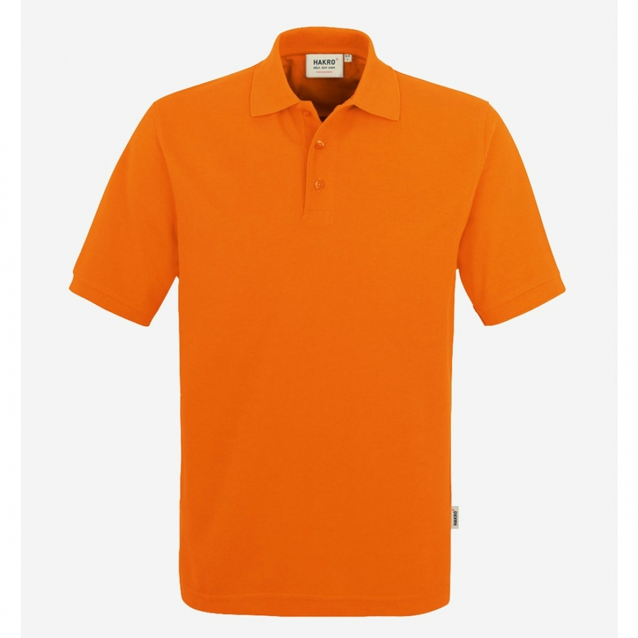 Poloshirt 816 Hakro Oranje
