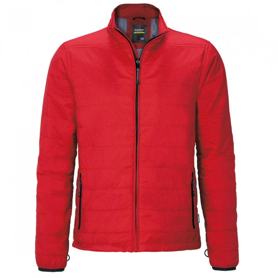 Heren Jack  met ZIP-IN Rood