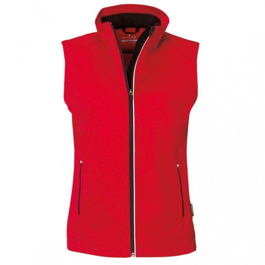 Dames bodywarmer softshell 254 Rood