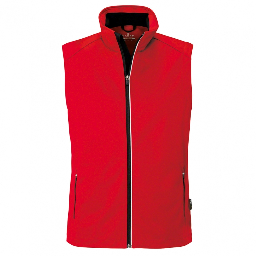 Heren bodywarmer softshell 854 Rood