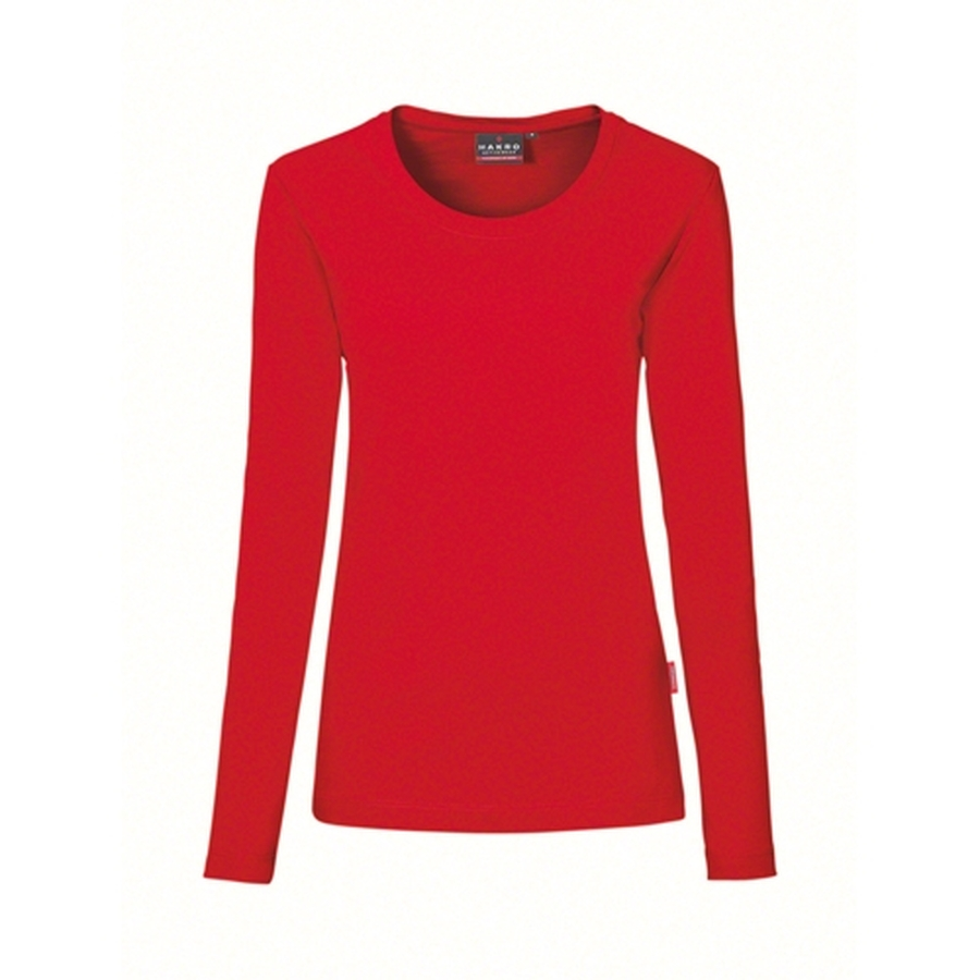 Hakro  Woman Performance Long Sleeve 179 Rood