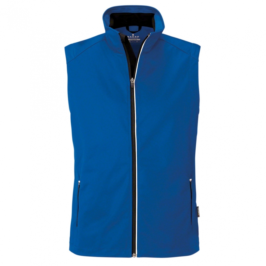 Heren bodywarmer softshell 854 Royal Blue