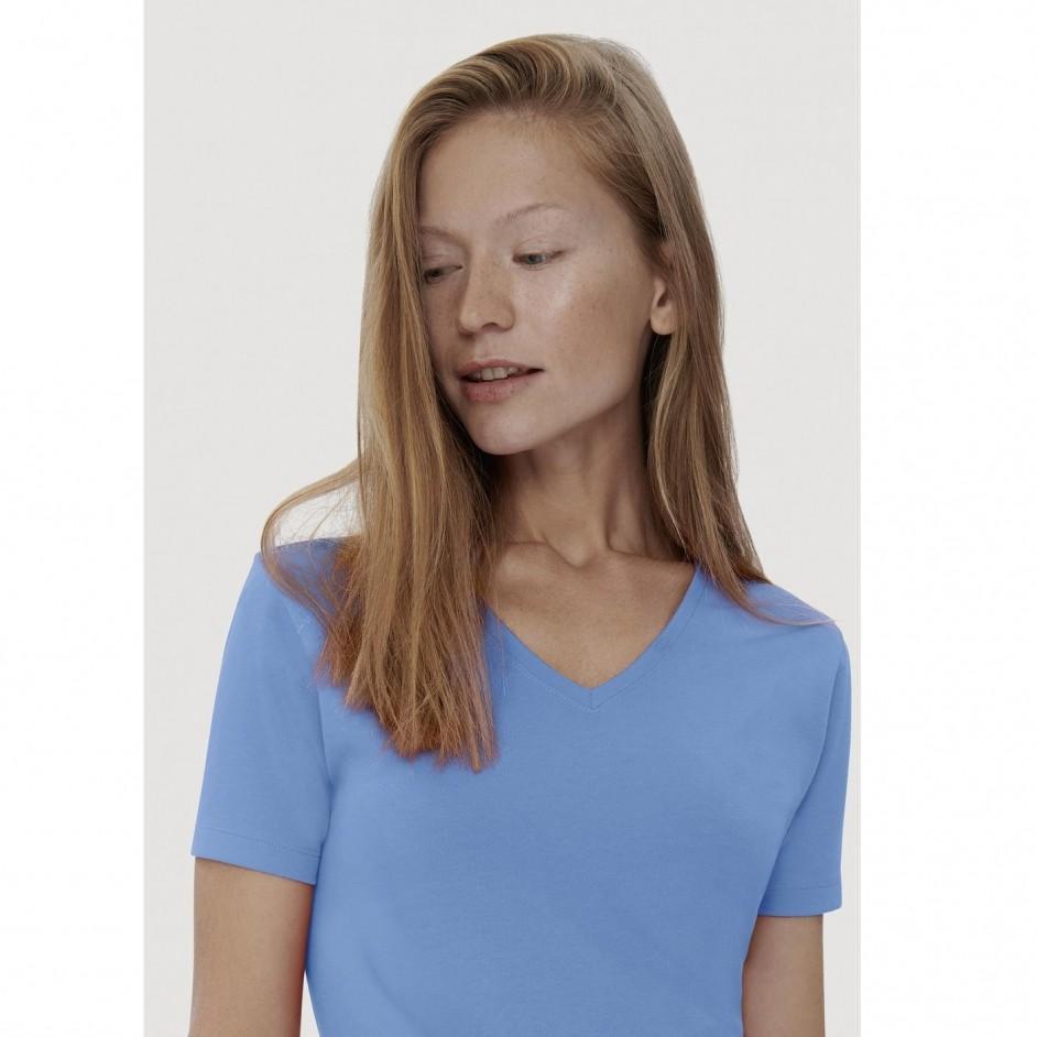 169 Dames V-shirt Cotton-Tex Hakro