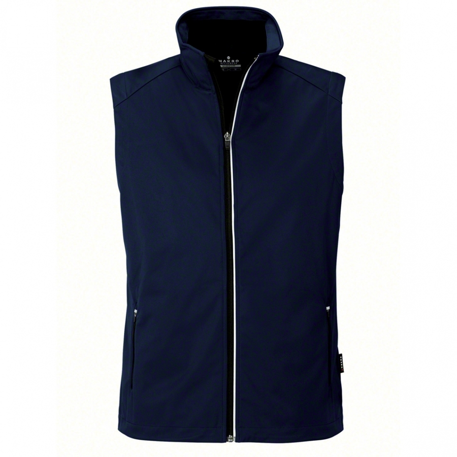 Heren bodywarmer softshell 854 Ink Blue