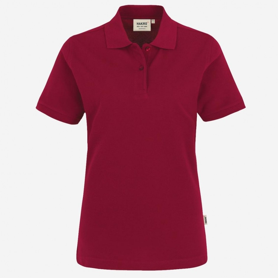 224 Dames poloshirt top Hakro