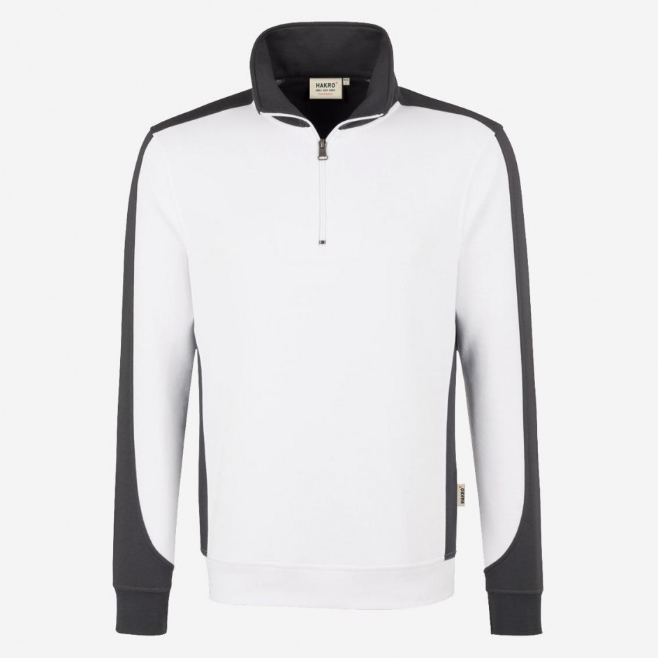 476 Hakro zip-sweatshirt performance