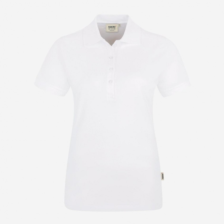 222 Dames poloshirt stretch