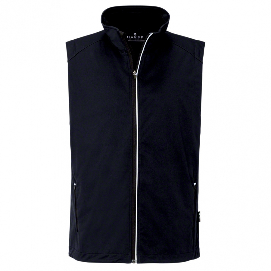 Heren bodywarmer softshell 854 Zwart