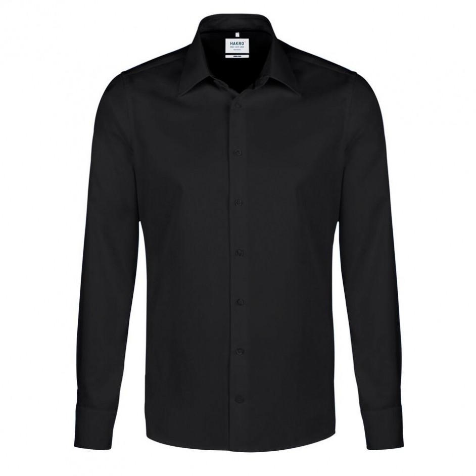 119 Hakro hemd zwart